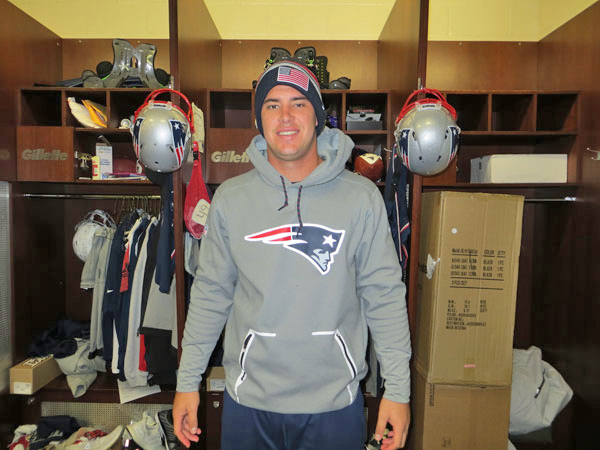 Joe Cardona Locker Room photo