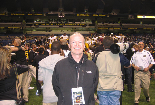 John Ingoldsby at U.S. Army All-American Bowl