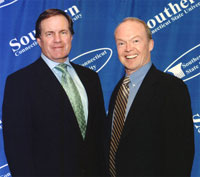 John Ingoldsby and Bill Belichick