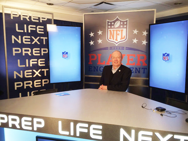 John Ingoldsby at NFL Player Engagement's